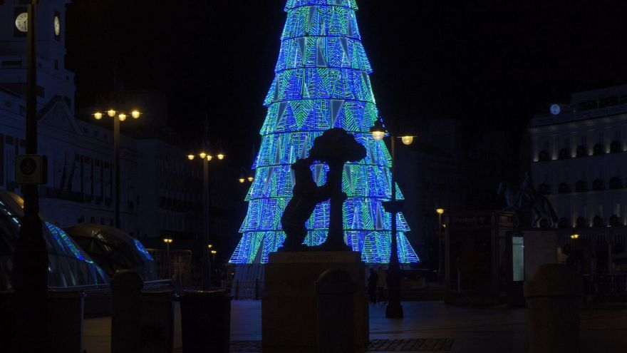 En fotos: luces de Navidad en Madrid para 2020 - 2021