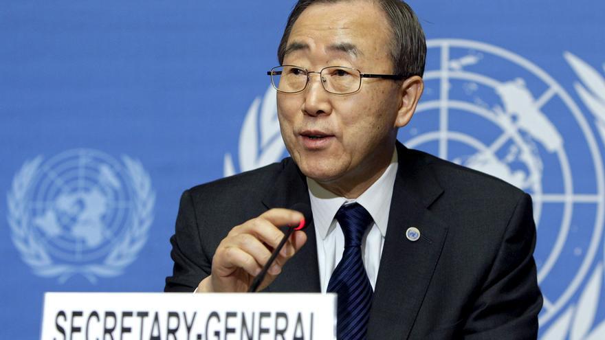 """Ban cree que la propuesta de Asad """"no contribuye"""" a solucionar el conflicto"""