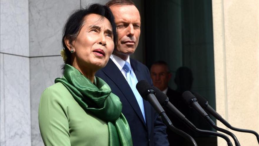 """Aung San Suu Kyi afirma en Australia que no es """"ni una santa, ni un icono"""""""