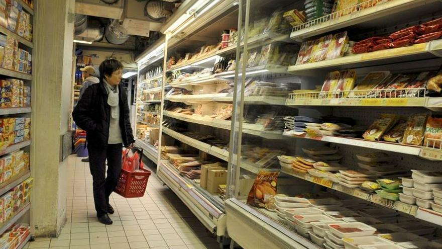 La inflación sube un 0,4 % en Francia en diciembre por la energía y alimentos