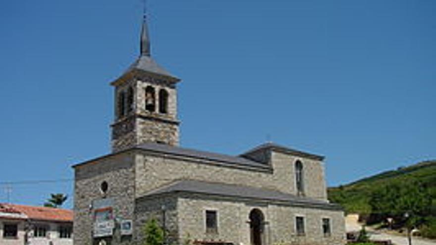 Iglesia en el municipio madrileño de Somosierra. / Wikipedia