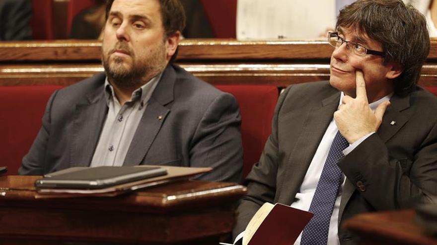"""Junqueras reivindica el """"mandato democrático"""" del Parlament ante el Constitucional"""