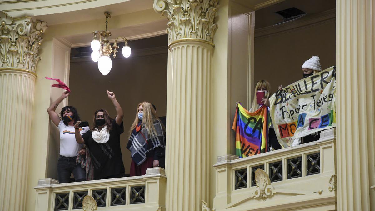 El Senado de la Nación convirtió en Ley el proyecto de inclusión laboral para la población trans, travesti y transgénero