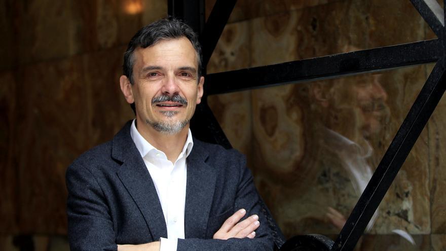 José Manuel López, candidato de Podemos a la Comunidad de Madrid. / Marta Jara