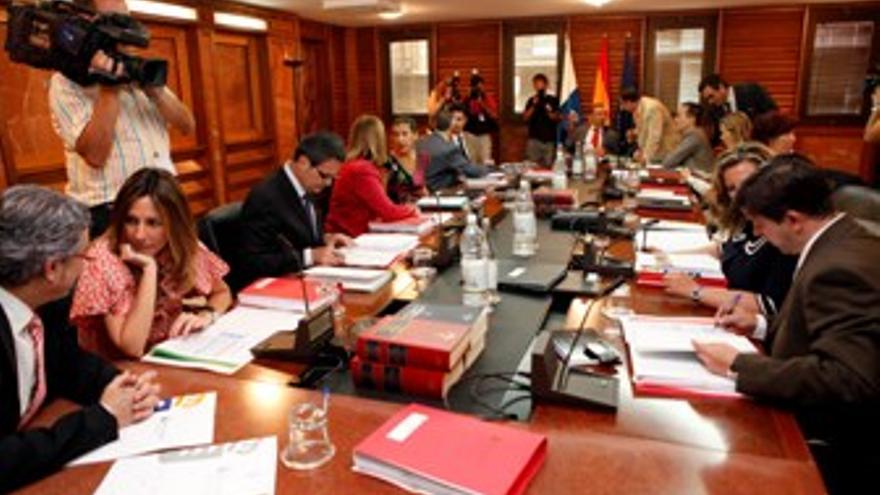 Sesión del Consejo de Gobierno. (ACFI PRESS)