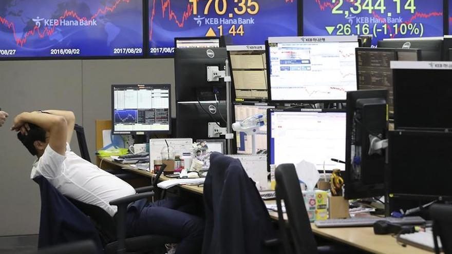 La Bolsa de Seúl abre con una subida del 0,28 % hasta los 2.336,28 puntos