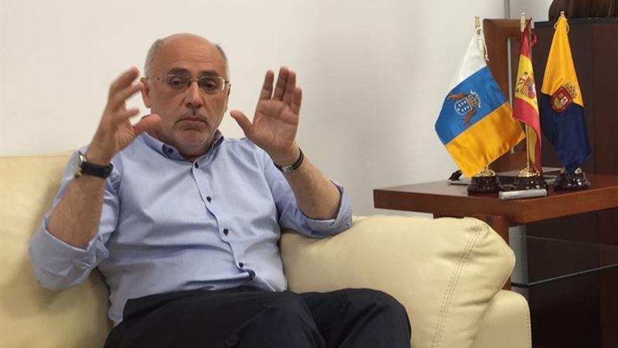 Antonio Morales, presidente del Cabildo de Gran Canaria. (EUROPA PRESS)