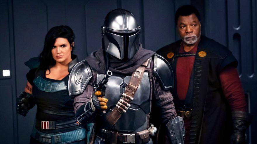Fotograma de la segunda temporada de 'The Mandalorian'