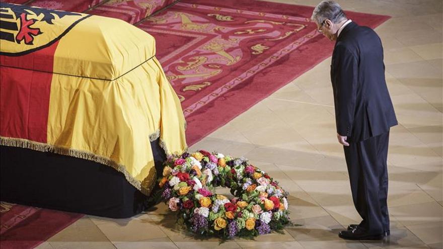 Alemania da su adiós al ex-presidente Richard von Weizsäcker