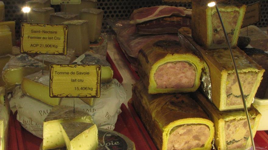 Pâté en croûte, típico de Lyon.