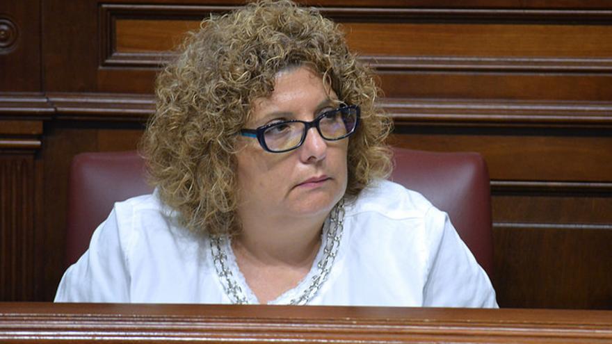 La diputada de Coalición Canaria Elena Luis