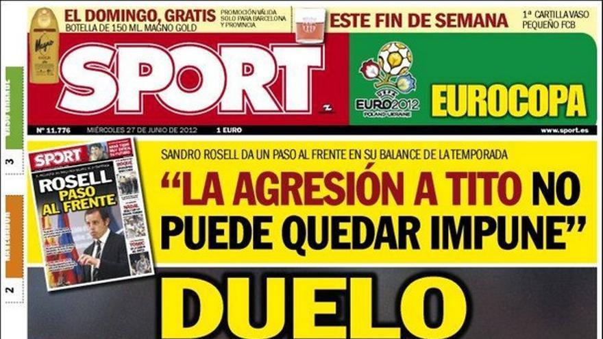 De las portadas del día (27/06/2012) #15