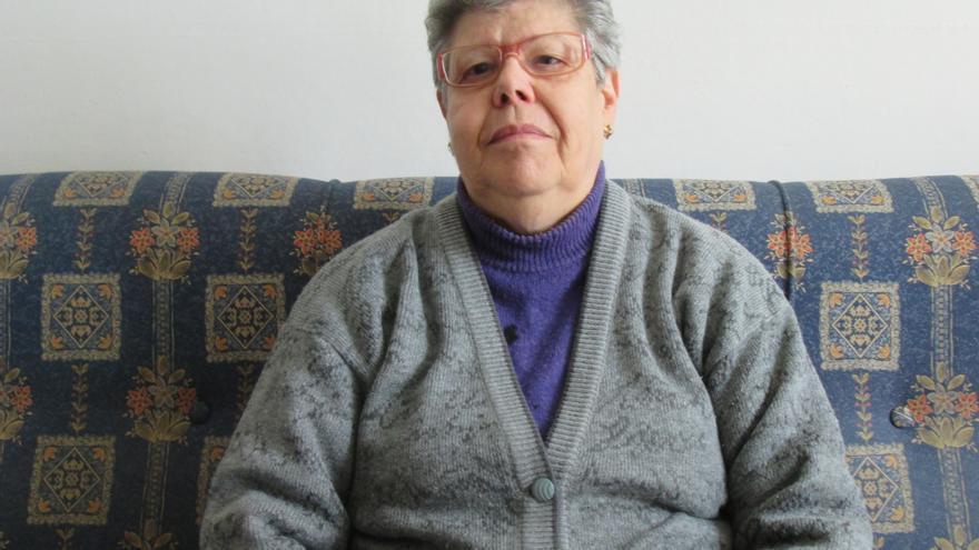 Teresa Concepción teme que la desahucien de su vivienda. Foto: LUZ RODRÍGUEZ.