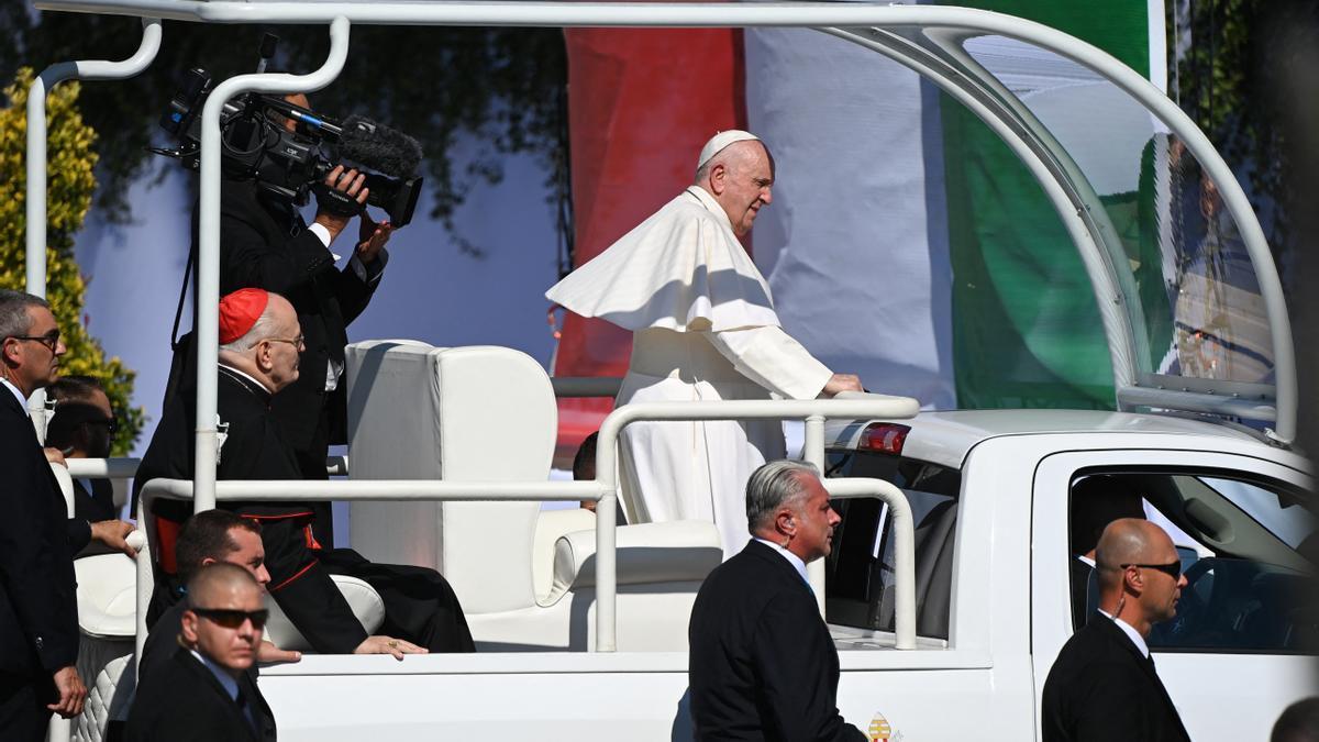 El papa Francisco en Hungría