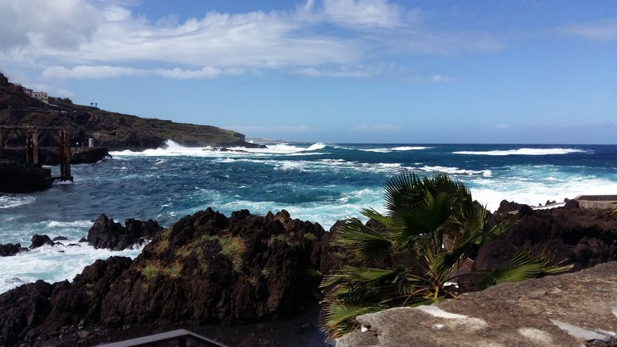 Imagen de archivo de la costa del pueblo de Garachico