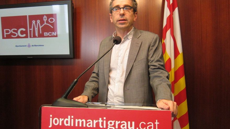 Jordi Martí (PSC) avisa de que puede hacerse el ridículo con el debate sobre la pregunta