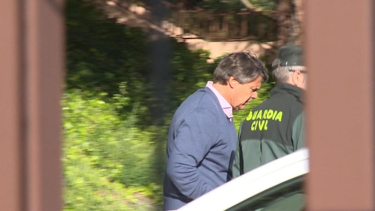 La Guardia Civil detiene a Pablo González en abril de 2017