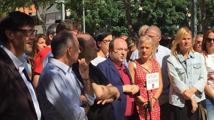 Iceta (PSC) insta al Govern a reconocer que no puede organizar el referéndum