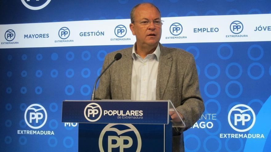 """Monago se presentará para seguir al frente del PP de Extremadura en un congreso regional que espera que sea """"tranquilo"""""""