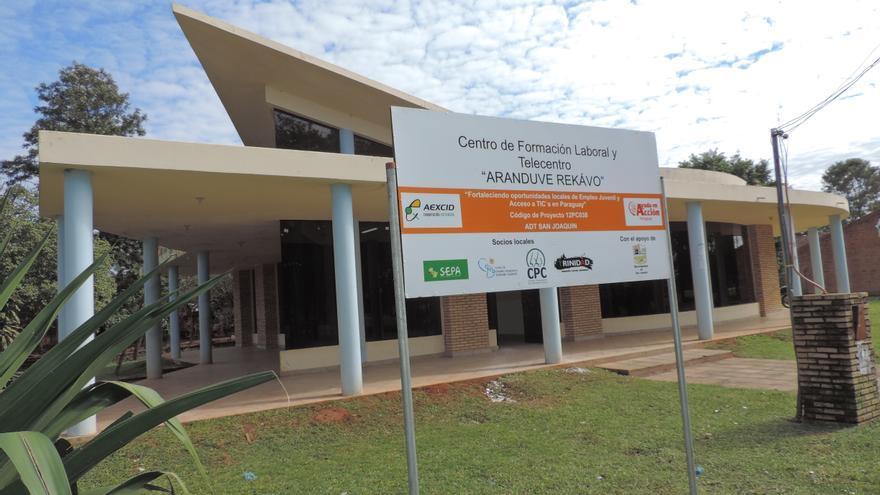 En Paraguay, buscamos aumentar las oportunidades de empleo juvenil mediante la mejora del acceso a las TIC. Foto: Ayuda en Acción Paraguay