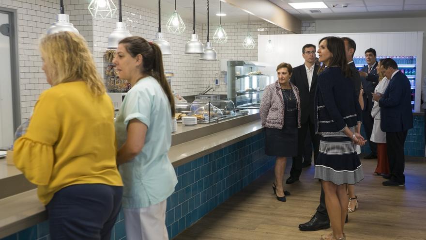 El Hospital de Laredo estrena cocina y cafetería