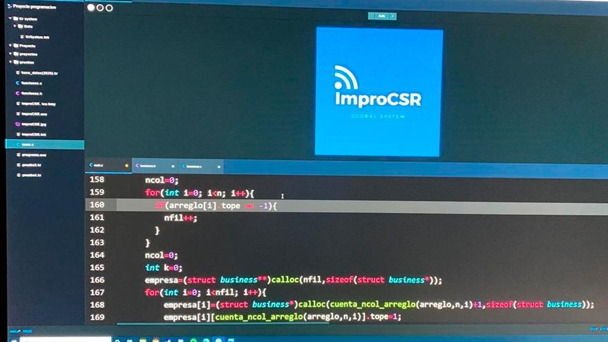 Programa informático 'improCSR Global System'.
