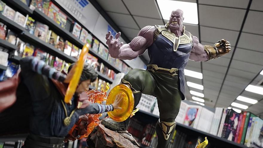 La librería Nostromo ha sido seleccionada por defender el mundo del cómic en su entorno