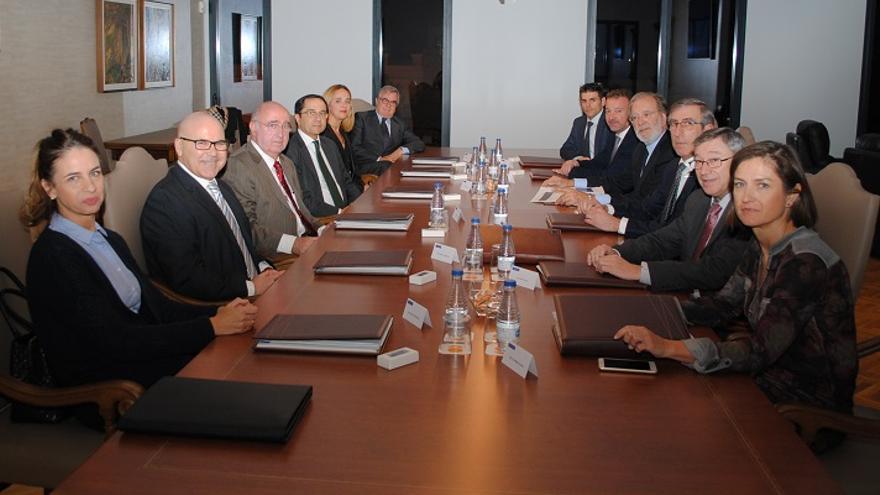 Imagen del nuevo Consejo de Administración de Caixa Ontinyent