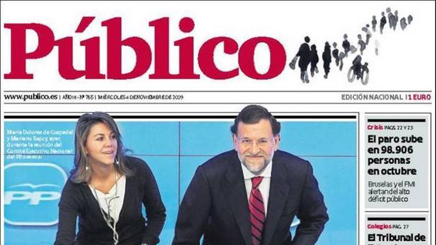 De las portadas del día (4/11/09) #11