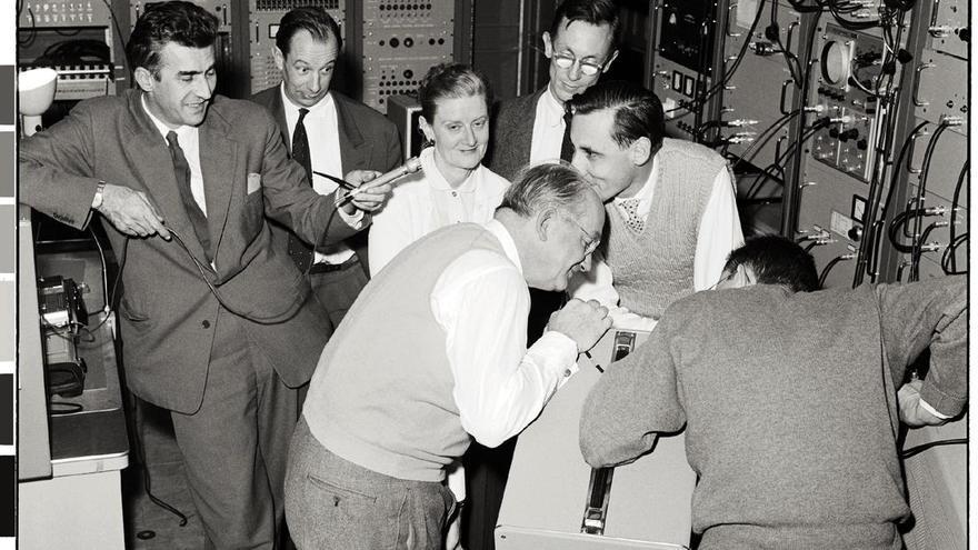 Los primeros ordenadores del CERN tenían una capacidad de cálculo limitada