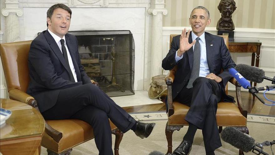 Renzi cree que solo la estabilidad en Libia frenará la crisis migratoria
