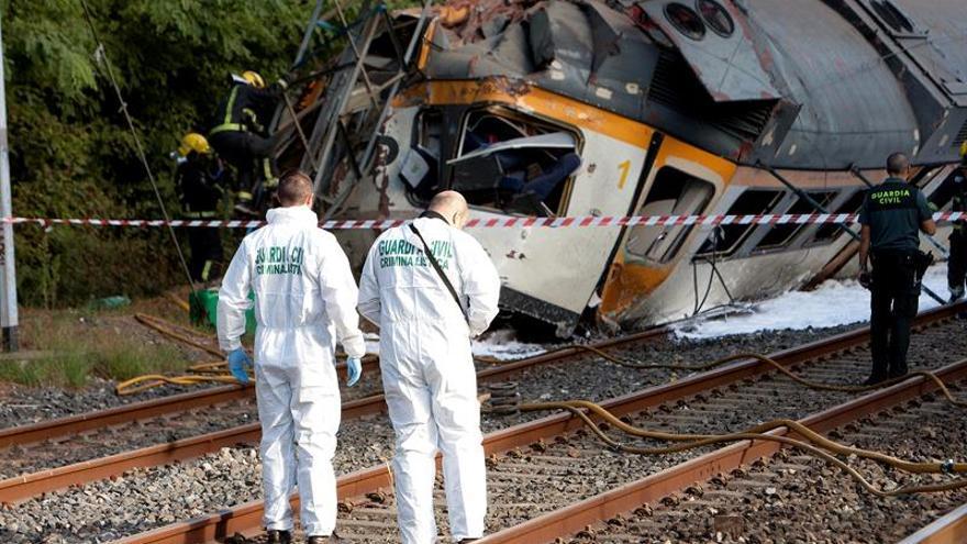 Los técnicos descartan un fallo en los frenos del tren siniestrado en Porriño