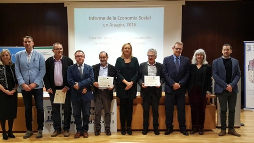 Presentación del informe de la Economía Social en Aragón