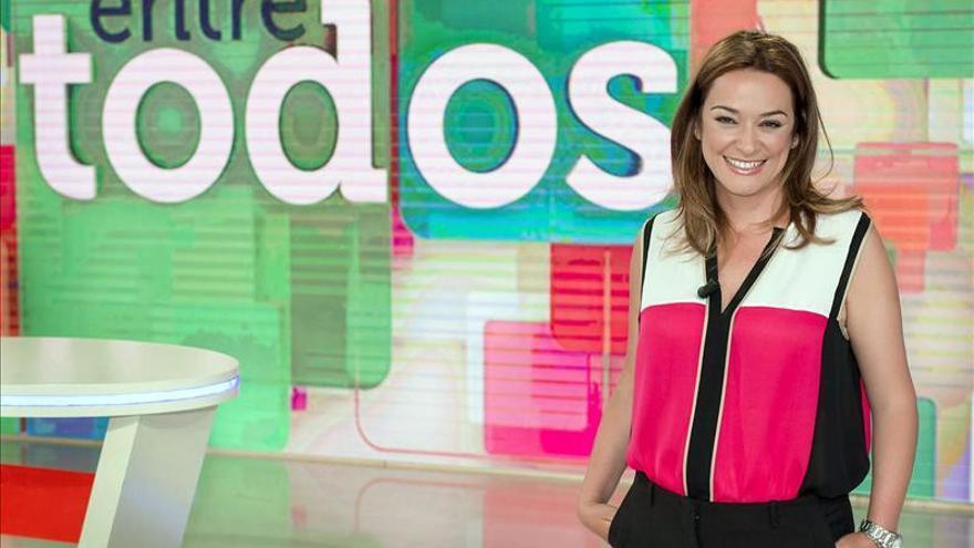 La presentadora de Entre todos, Toñi Moreno