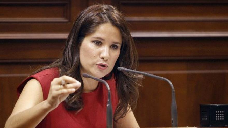 Aurora del Rosario, portavoz de Empleo del PP. (EFE)