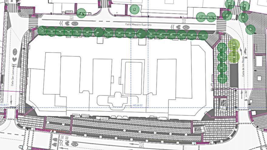 Así es la reforma de las calles que rodean el Edificio España y que pagará una empresa privada