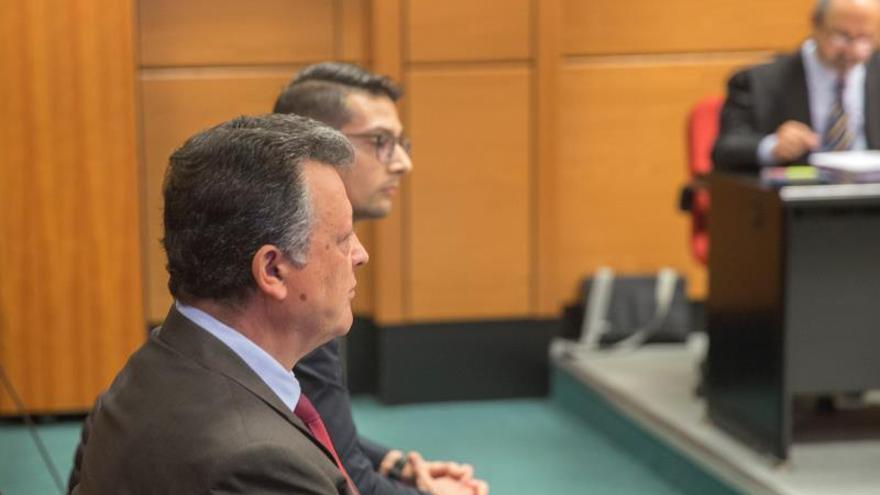 Emilio Titos, en el juicio