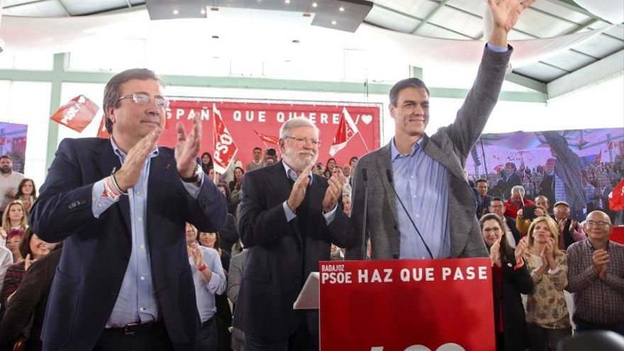 """Pedro Sánchez: El PSOE es """"el único proyecto cabal, moderado y sensato"""""""
