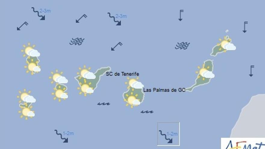 El tiempo en Canarias para este jueves, 2 de junio