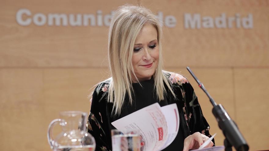 "Cifuentes espera una disculpa de Espinar por llamarle ""guapi"": ""Denota el machismo de algunos dirigentes de Podemos"""