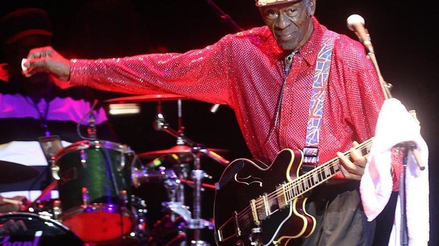 """Chuck Berry anuncia """"Chuck"""", su primer disco nuevo en 38 años"""
