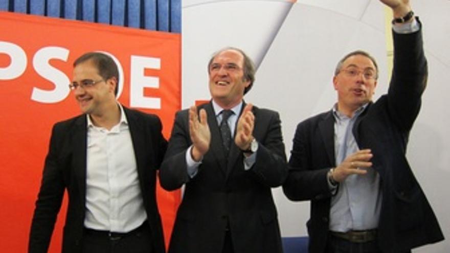 César Luena, Ángel Gabilondo Y Francisco Martínez Aldama, PSOE