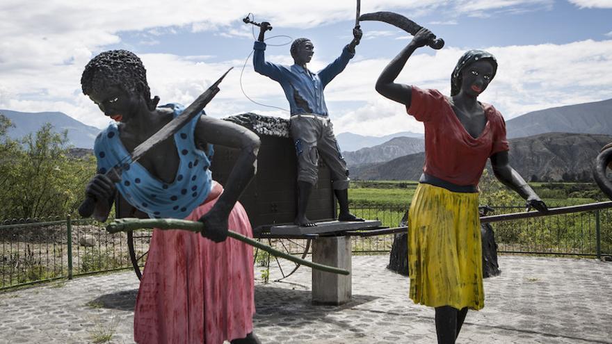 Esclavitud en el Valle del Chota. Foto: Salva Campillo / Ayuda en Acción