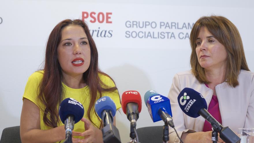 Patricia Hernández y Tereza Cruz