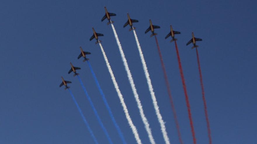 El dia de la Bastilla en Francia