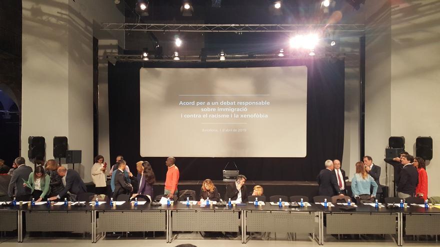 Acuerdo para un debate responsable sobre inmigración y contra el racismo y la xenofobia