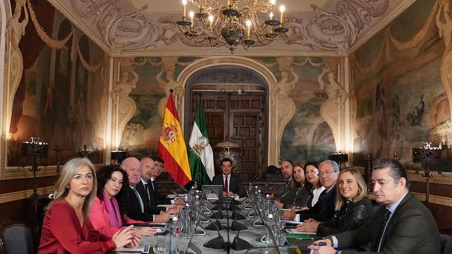 El Consejo de Gobierno andaluz que se celebró en Córdoba el pasado mes de diciembre.
