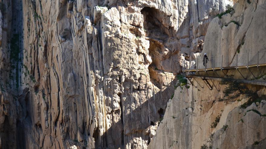 La pasarela del Caminito del Rey / N.C.