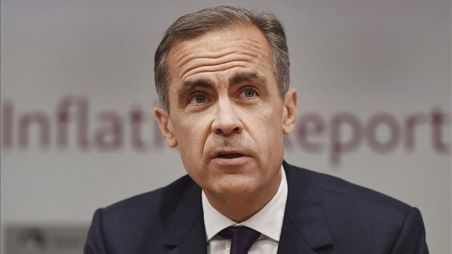 """El Gobernador del Banco de Inglaterra, a favor de que el referéndum de la UE sea """"pronto"""""""