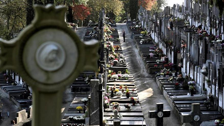 Masiva afluencia en los cementerios en el Día de Todos Los Santos